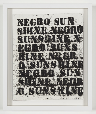 Study for Negro Sunshine II #14